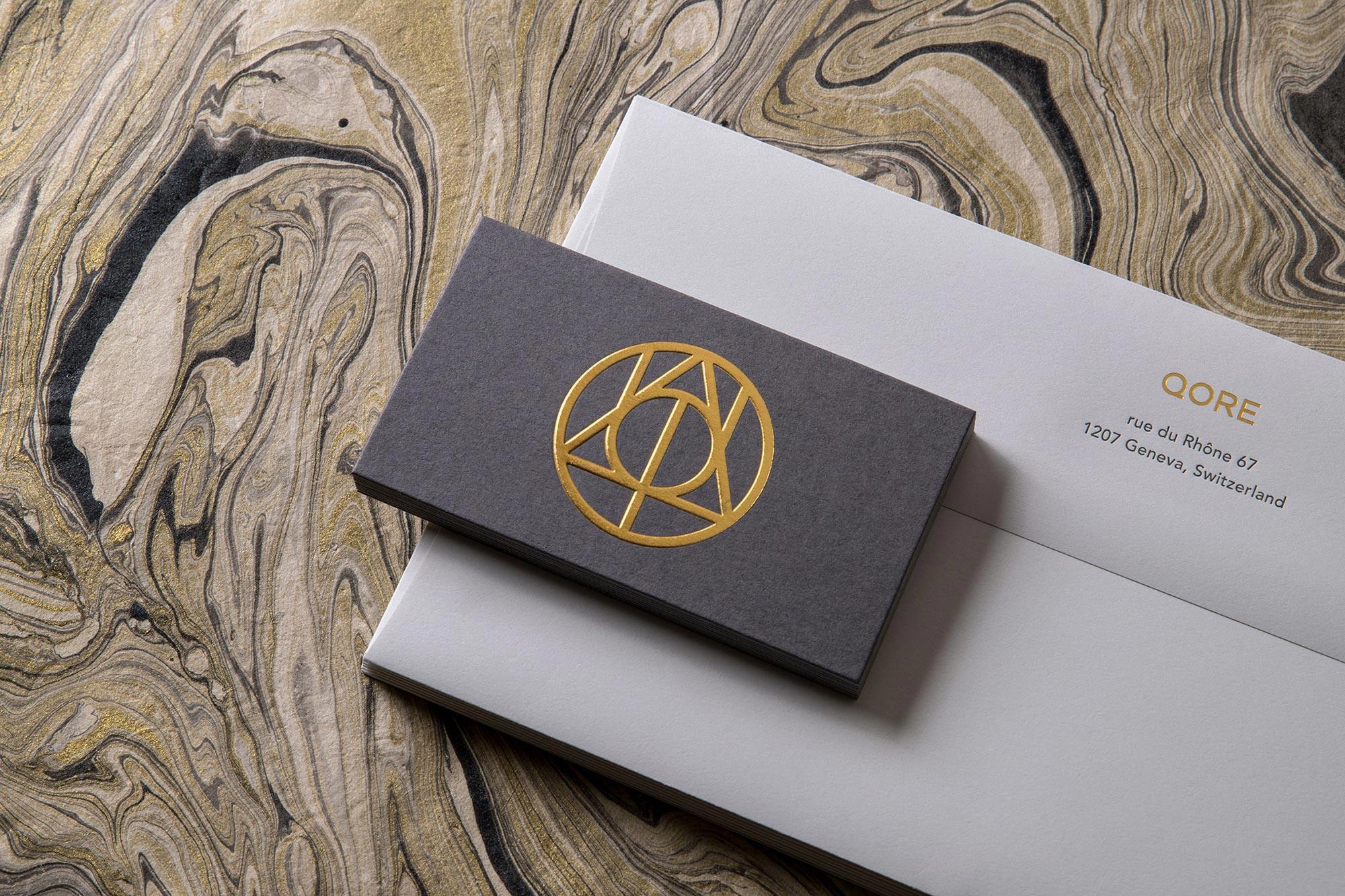 TRÜF : QORE Brand Identity, Website & Collateral Design