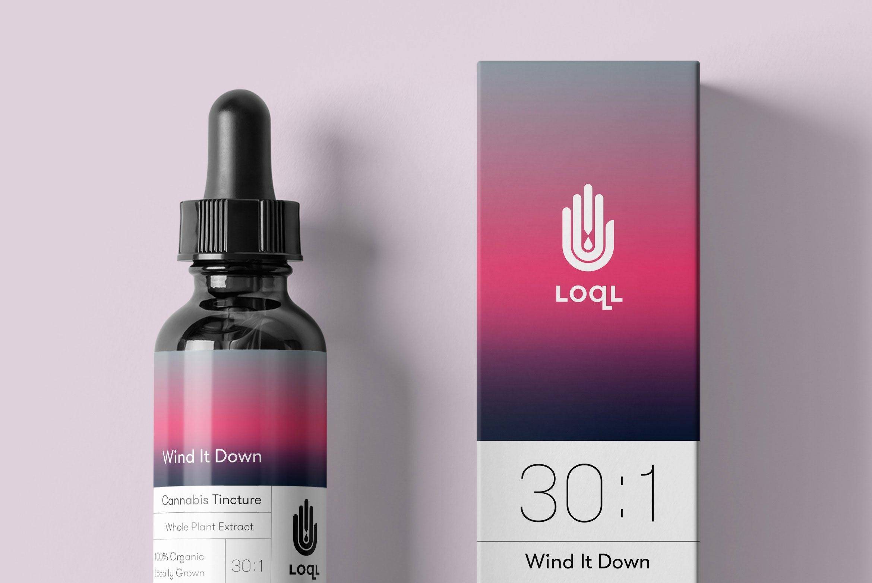 22e80b9b9f0 TRÜF   LOQL Cannabis Extracts Brand Identity   Packaging